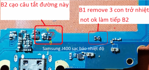 Samsung Galaxy J4 2018 J400 Charging Paused Solution Jumpers