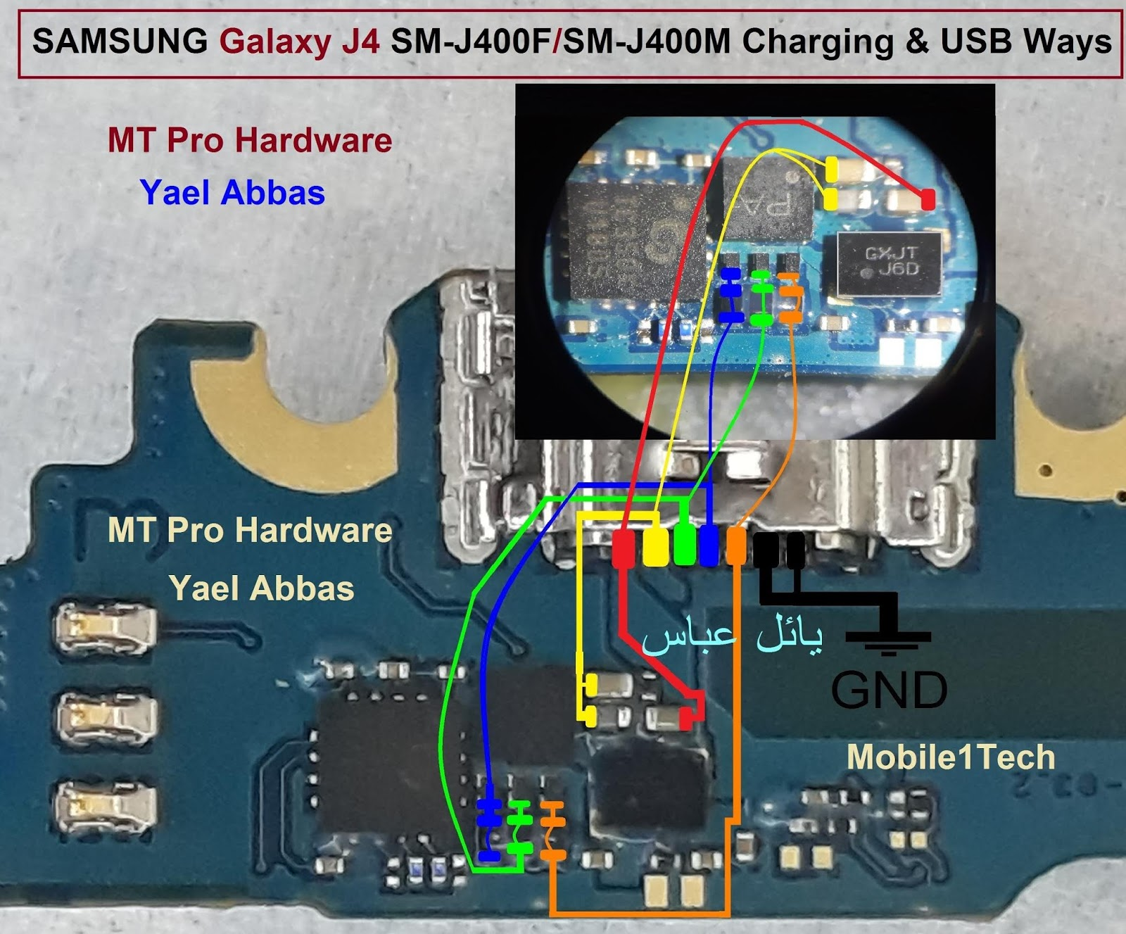 Samsung Galaxy J4 J400F Usb Charging Problem Solution Jumper Ways