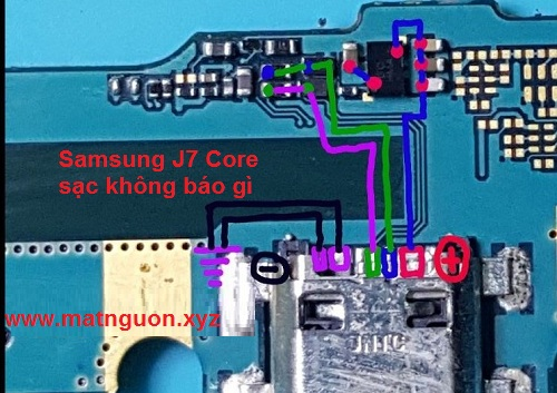Samsung Galaxy J7 Core Usb Charging Problem Solution Jumper Ways