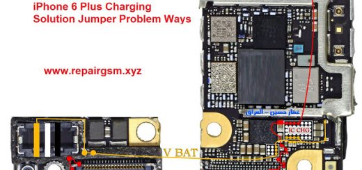 iPhone 6S Plus Charging Solution Jumper Problem Ways