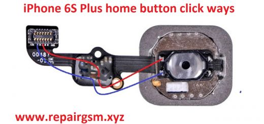 iPhone 6S Plus Home Key Button Not Working Problem Solution Jumper
