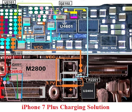 iPhone 7 Plus Charging Solution Jumper Problem Ways