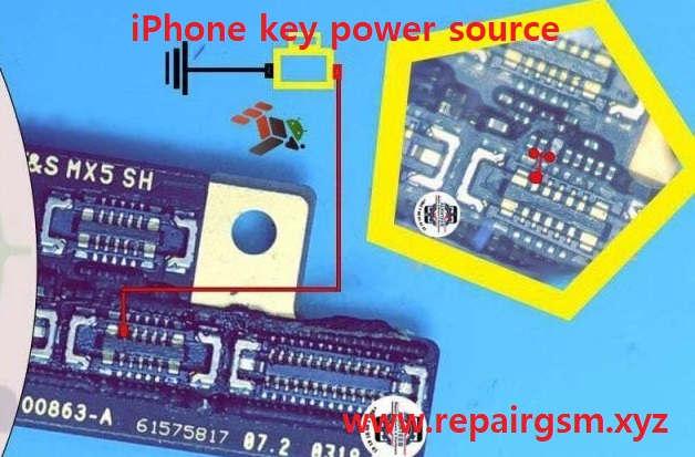 iPhone 7 Power Button Solution Jumper Ways