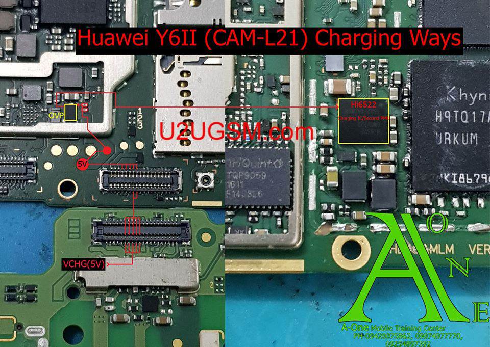 Huawei Y6II Charging Problem Solution Jumper Ways No Charging