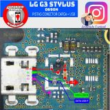 LG G3 Stylus Dual D690N Usb Charging Problem Solution Jumper Ways