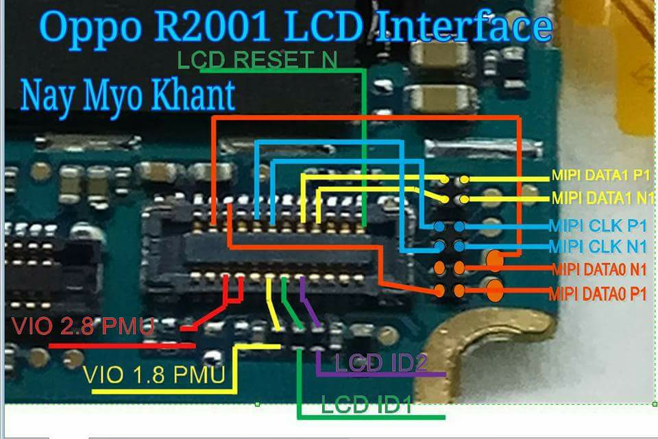 Oppo R2001 Yoyo Display Problem Solution Jumper Ways
