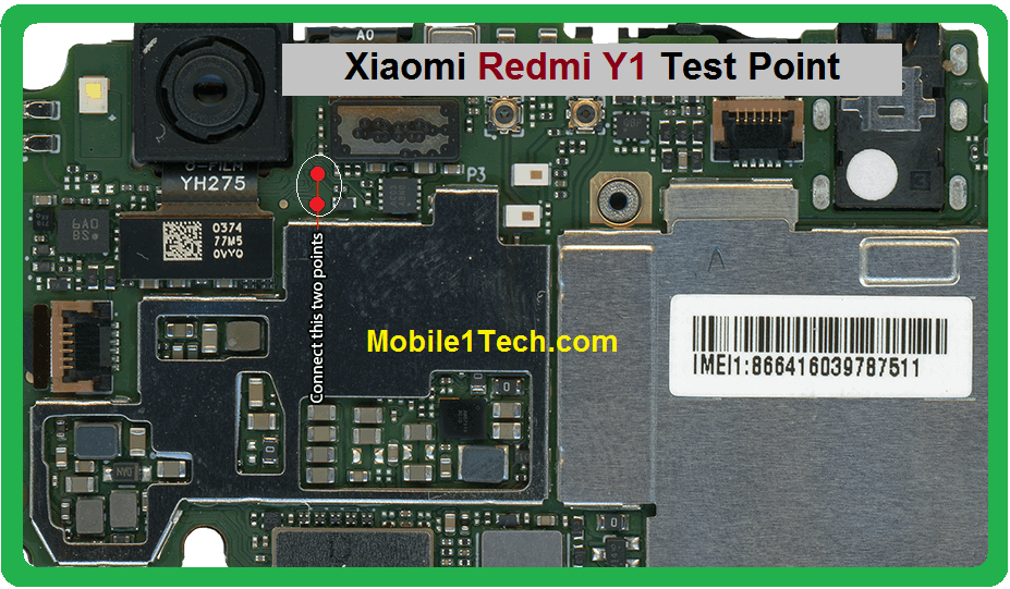 Xiaomi Redmi Y1 Test Points Pin Out Solution Flash Point
