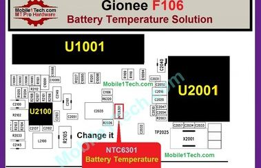 Gionee F106 Charging Paused Solution Jumpers