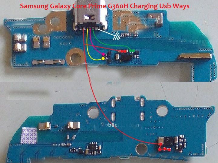 Samsung Galaxy Core Prime G360F Usb Charging Problem Solution Jumper Ways