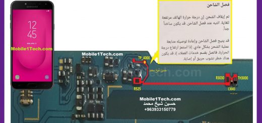Samsung Galaxy J4 J400 Charging Paused Solution Jumpers