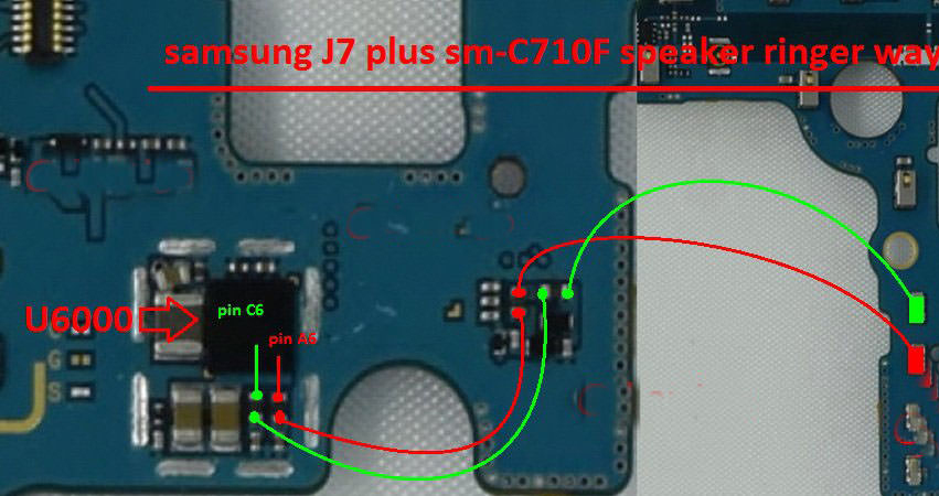Samsung Galaxy J7 Plus C710F Ringer Solution Jumper Problem Ways
