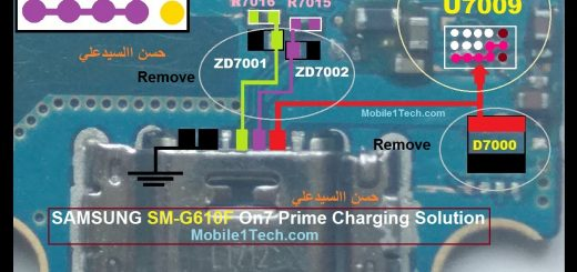 Samsung Galaxy J7 Prime Usb Charging Problem Solution Jumper Ways