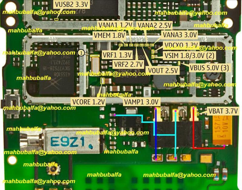 Nokia X2 Battery Terminals Point Problem Jumper Ways