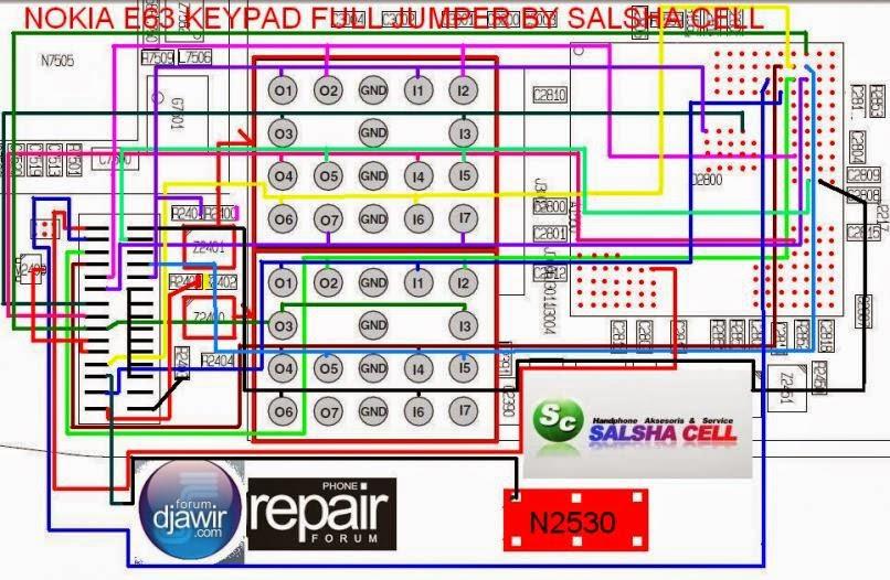 Nokia E63 Keypad Problem Solution Jumper Ways