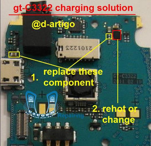 Samsung C3322 Charging Solution Jumper Problem Ways