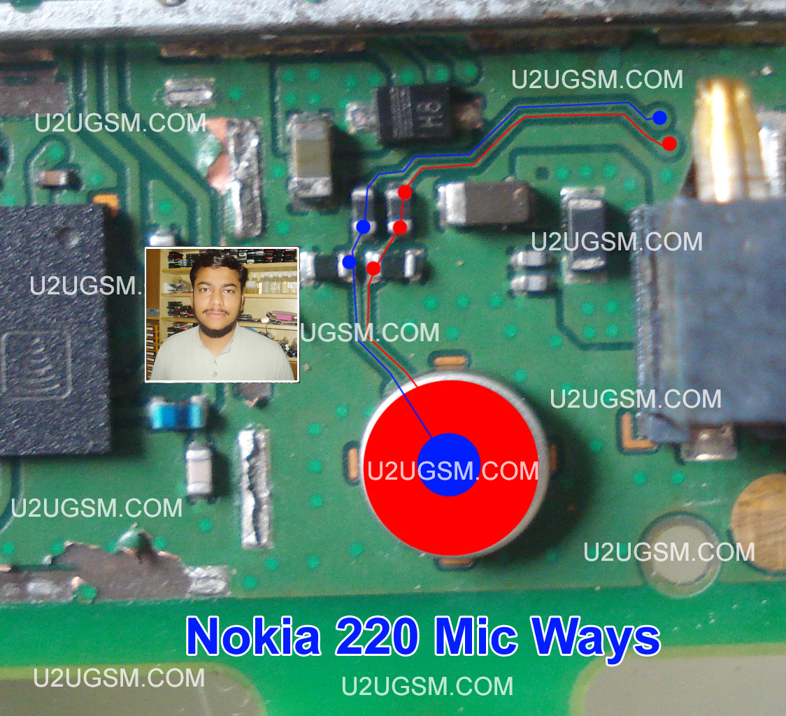 Nokia 220 Mic Solution Jumper Problem Ways Microphone