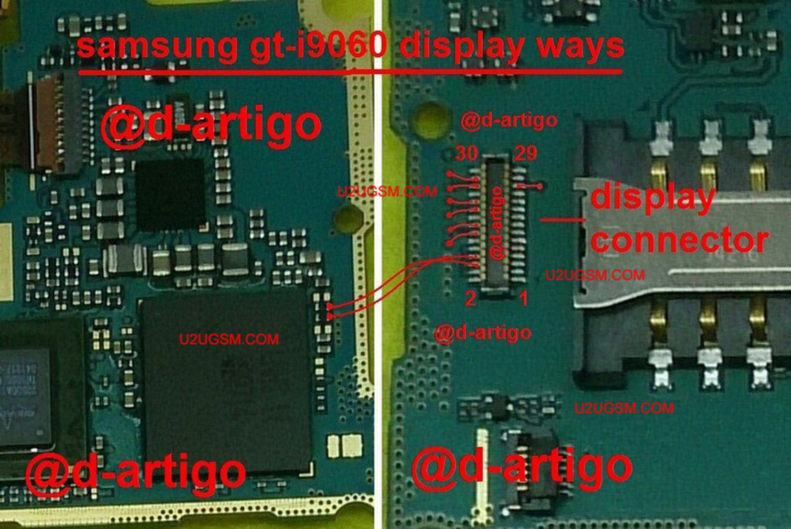 Samsung Grand Neo I9060 Lcd Display Ic Solution Jumper Problem Ways