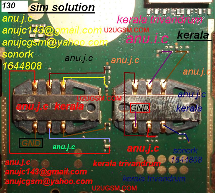 Nokia 130 Insert Sim Ic Solution Jumper Problem Ways