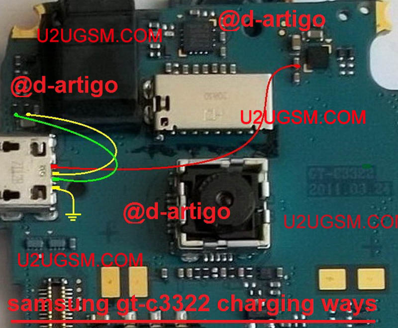 Samsung C3322 Charging Problem Solution Jumper Ways Charging Not Supported
