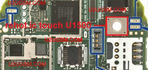 Huawei C8816d Touch Screen Not Working Problem Solution Jumpers