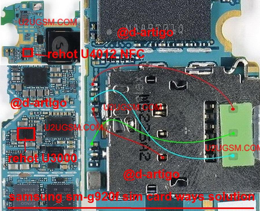 Samsung Galaxy S6 Insert Sim Ic Solution Jumper Problem Ways