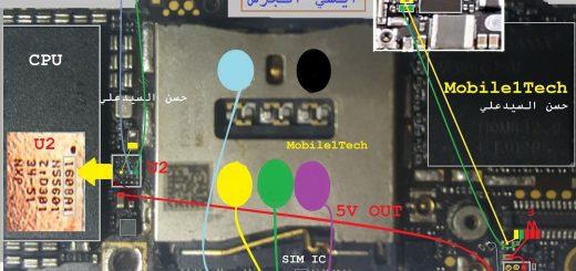 iPhone 5 Insert Sim IC Solution Jumper Problem Ways