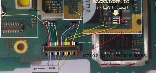 Samsung Galaxy Grand 2 LCD Display Light IC Solution Jumper Problem Ways