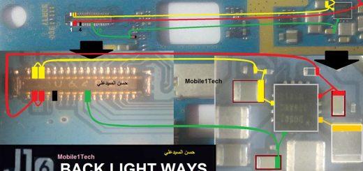 Samsung Galaxy J1 2016 LCD Display Light IC Solution Jumper Problem Ways