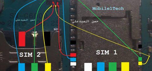 Samsung Galaxy On7 Insert Sim IC Solution Jumper Problem Ways