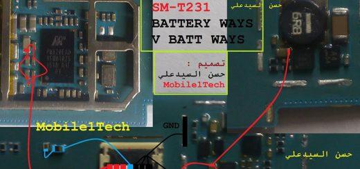 Samsung Galaxy Tab 4 SM- T231 Power Problem Solution