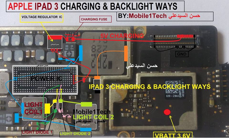 Iphone Ipad 3 Charging Solution Jumper Problem Ways Charging Not Supported