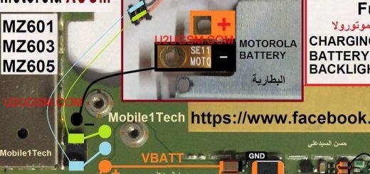 Motorola XOOM Battery Connector Terminal Jumper Ways