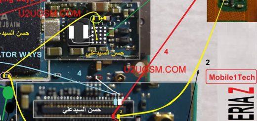 Sony Xperia Z C6602 LCD Display Light IC Solution Jumper Problem Ways