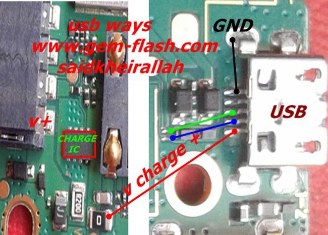 Huawei Ascend Y520 Charging Solution Jumper Problem Ways