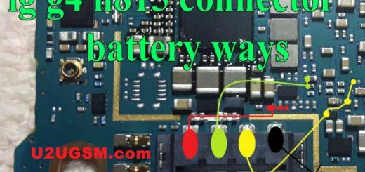 LG G4 H815 Battery Connector Terminal Jumper Ways