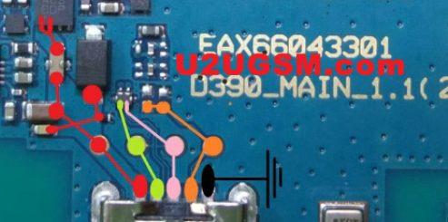 LG Optimus F60 D390 Charging Solution Jumper Problem Ways Charging