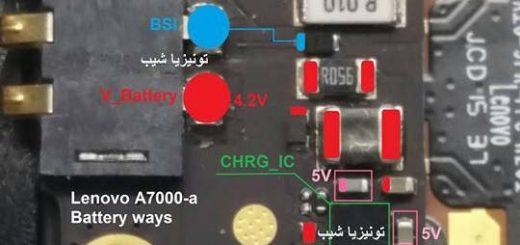 Lenovo A7000 Battery Connector Terminal Jumper Lenovo Battery Connector