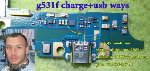 Samsung Galaxy Grand Prime G531F Charging Solution Jumper Problem Ways