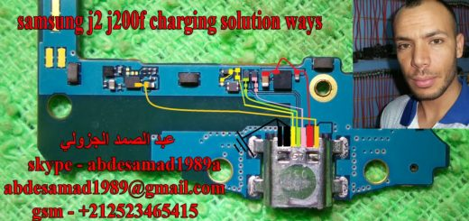 Samsung Galaxy J2 J200F Charging Solution Jumper Problem Ways