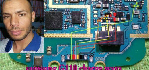 Samsung Galaxy Pocket 2 G110 Charging Solution Jumper Problem Ways