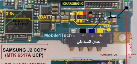 Samsung J2 Clone MTK 6517A Charging Solution Jumper Problem Ways