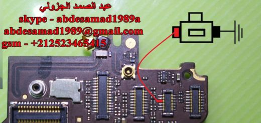 iPhone 4G Power On Off Key Button Switch Jumper Ways
