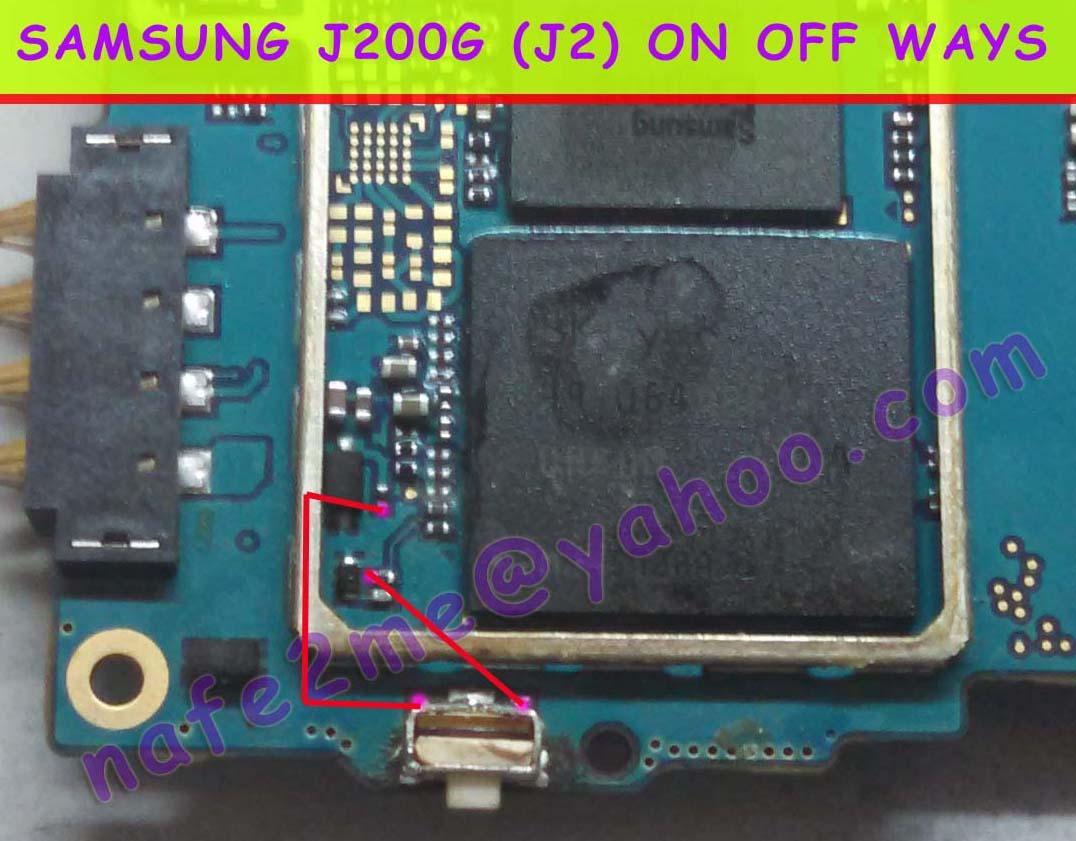 Samsung Galaxy J2 Power Button Not Working Jumper Ways