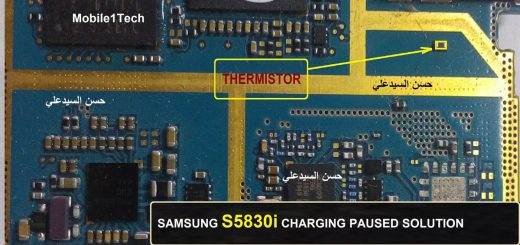 Samsung Galaxy Ace S5830I Charging Paused Solution Jumpers
