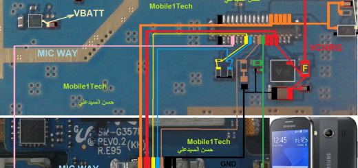 Samsung Z2 Z200f Usb Charging Problem Solution Jumper Ways
