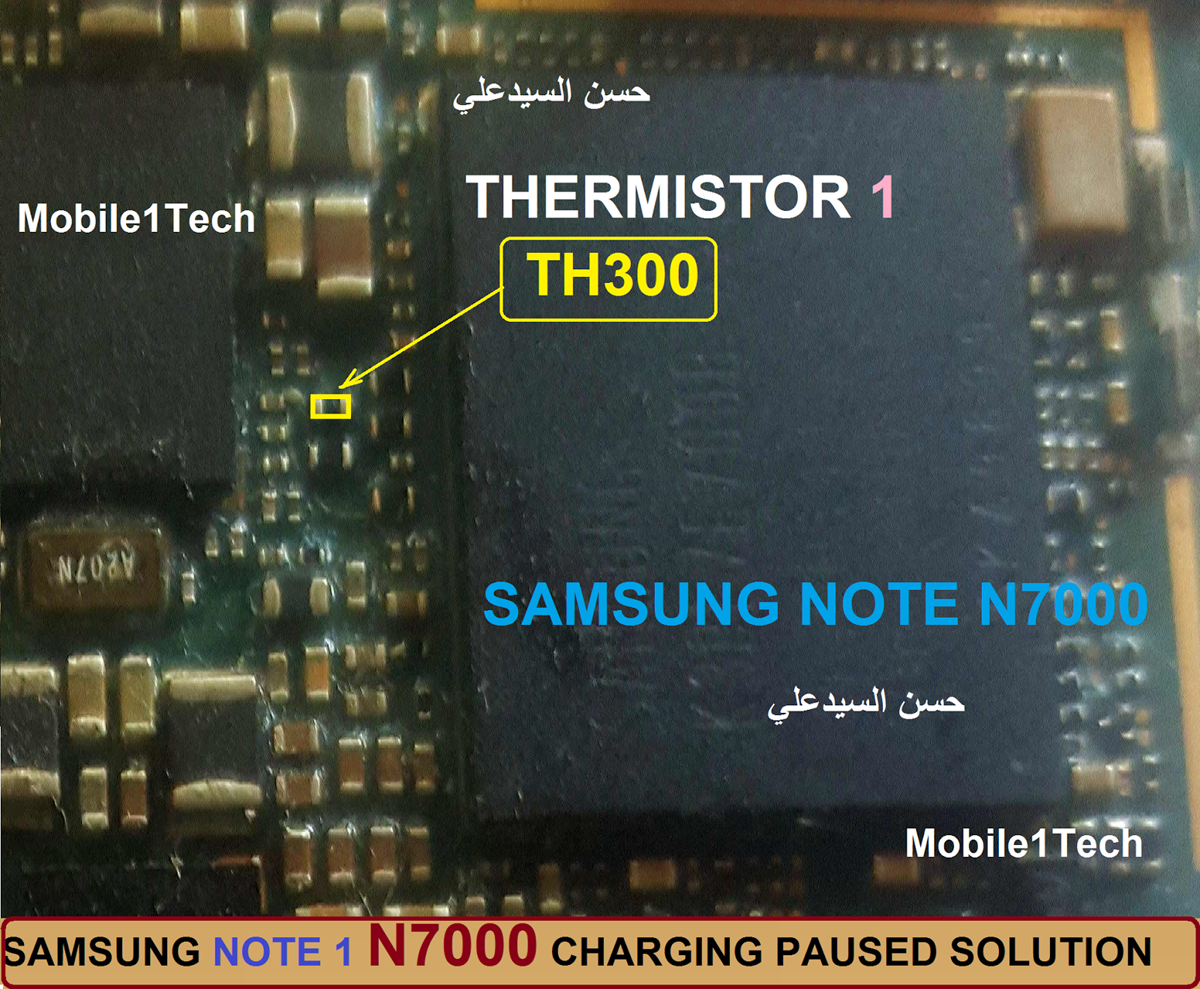Samsung Galaxy Note N7000 Charging Paused Solution Jumpers