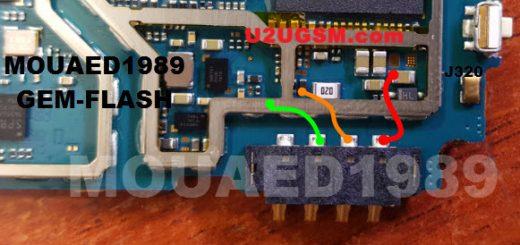 Samsung J3 J320H Battery Connector Terminal Jumper Ways