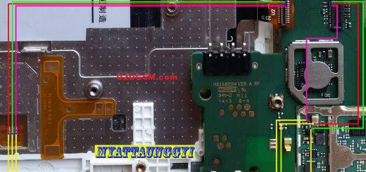 Huawei Ascend G615 Cell Phone Screen Repair Light Problem Solution Jumper Ways