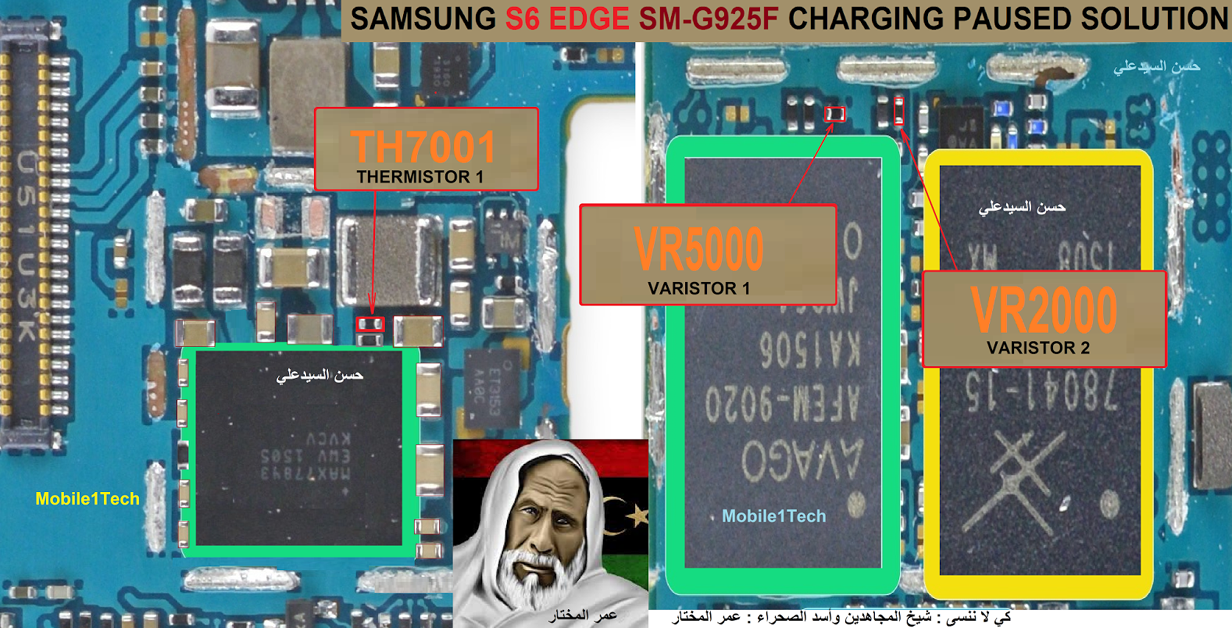 Samsung Galaxy S6 Edge Charging Paused Solution Jumpers