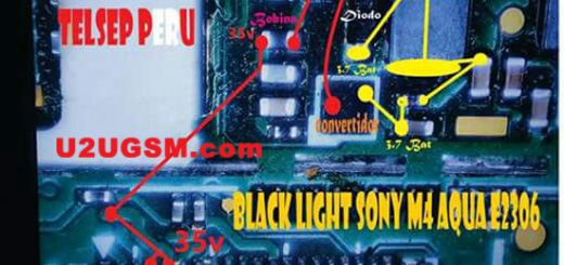 Sony Xperia M4 Aqua E2306 Display Light Solution